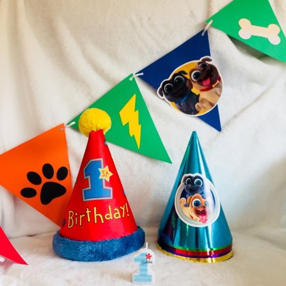 Other - Disney's Puppy Dog Pals 1st Birthday Party Bundle